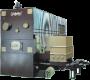 котел FERROLI мод. Bi COMB S/ SGM на твърдо гориво