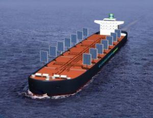 Ще използват фотоволтаични панели като платна за корабоплаване