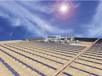 В Алжир заработи първата хибридна електроцентрала в света