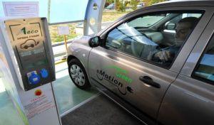 София дава пример на ЕС със соларна зарядна колонка за електромобили